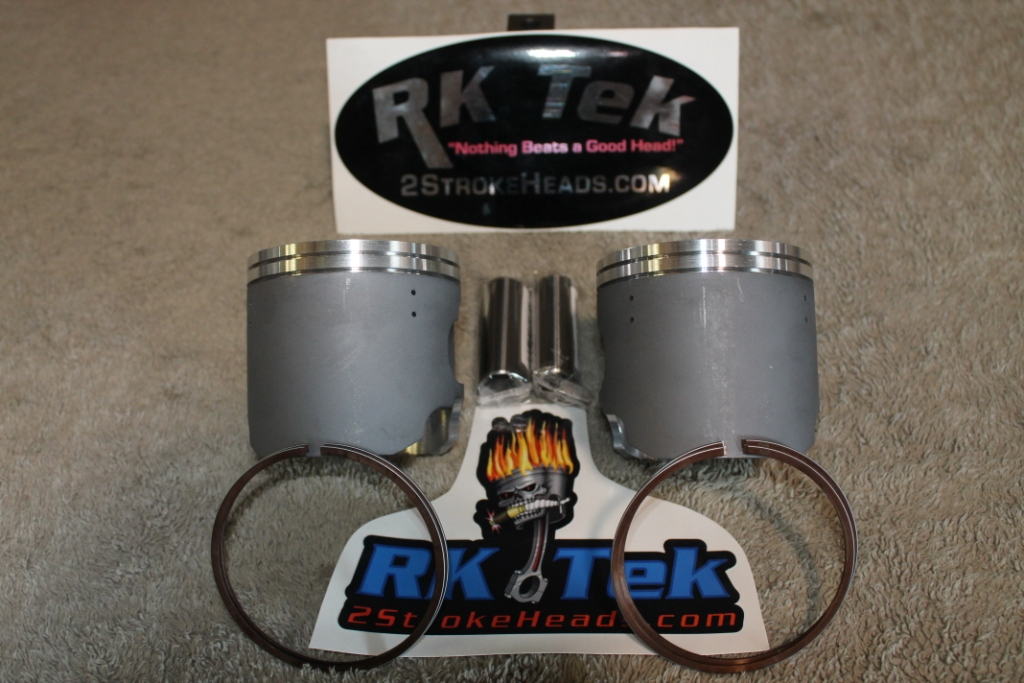 Ski Doo: Ski Doo 800 Dual Ring Replacement Pistons